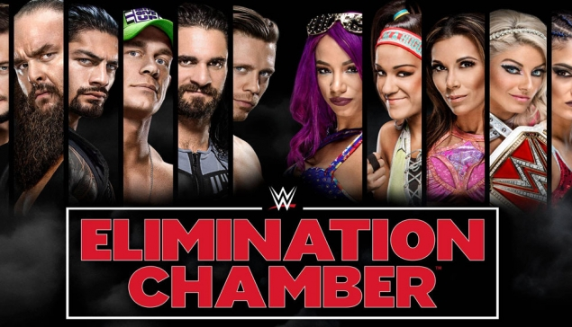 Carte de WWE Elimination Chamber 2018