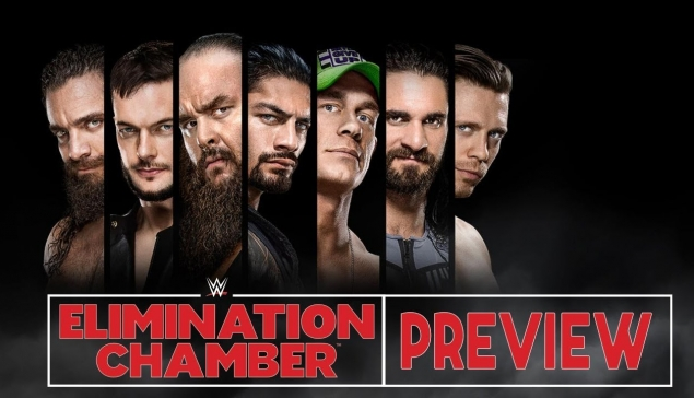 [WFF] LIVE : Preview de WWE Elimination Chamber 2018