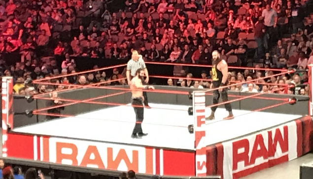 [RAW] Le match « The Ultimate Delation » n'a pas été diffusé à Dallas !