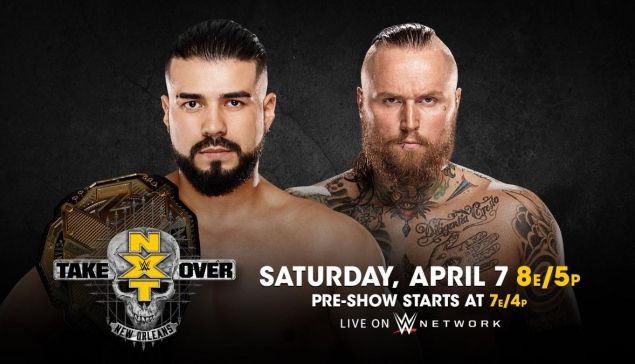 Carte de WWE NXT TakeOver: New Orleans