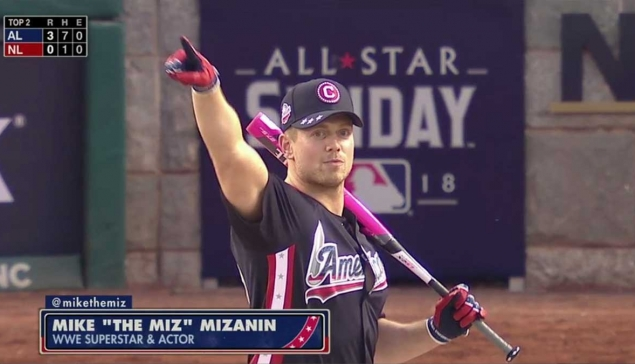 Miz le MVP du MLB Celebrity Softball Game 2018