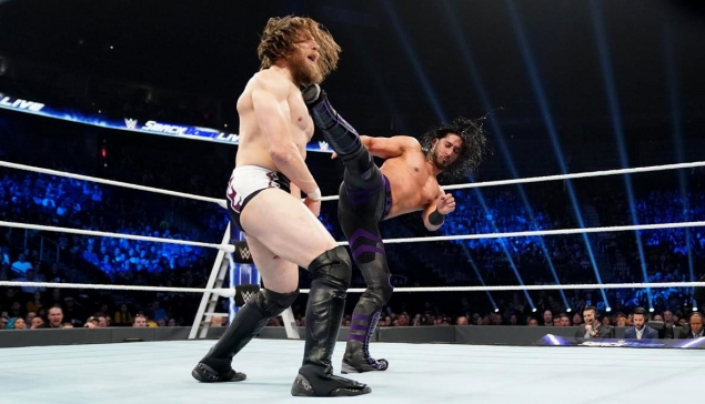 SmackDown : Réactions des Superstars suite à la performance de Mustafa Ali