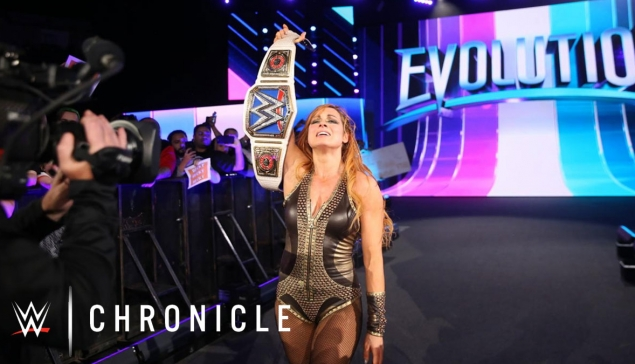 WWE Chronicle avec Becky Lynch