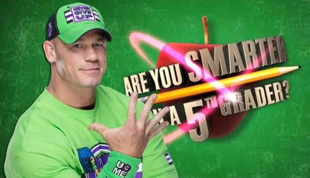 John Cena le prochain animateur de ''Are You Smarter Than a 5th Grader ?''