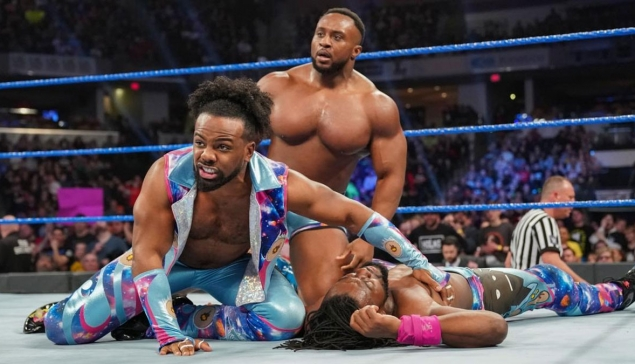 SmackDown : La réaction du New Day suite au Gauntlet Match