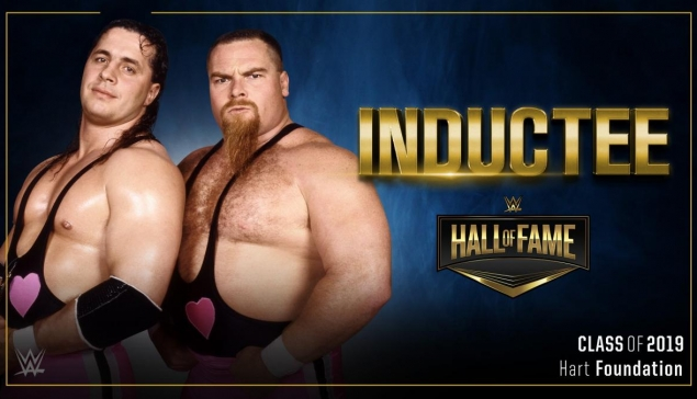 #AventureWM J-13 : La Hart Foundation sera introduite au Hall of Fame 2019