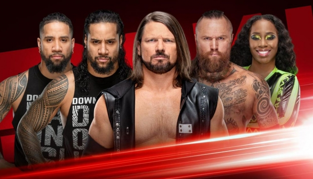 Preview : WWE RAW du 22 avril 2019
