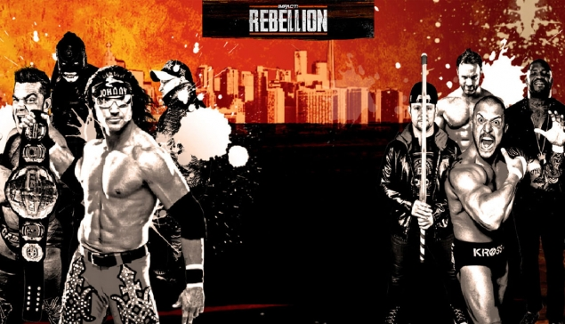 Carte d'Impact Wrestling Rebellion