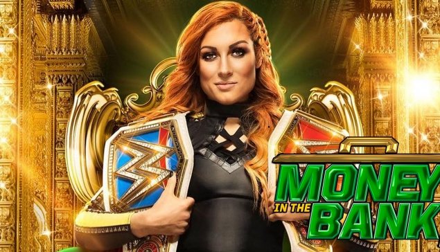 Carte de WWE Money in the Bank 2019