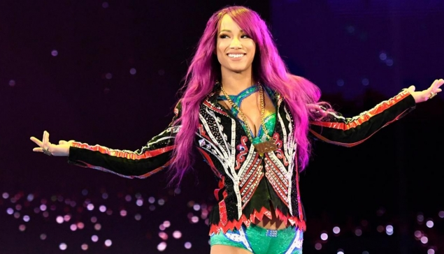 Sasha Banks à New York pour la WWE