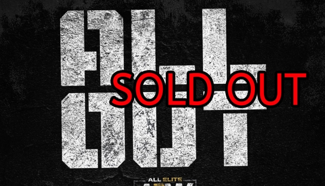 AEW All Out sold out en 15 minutes