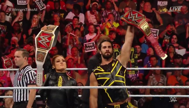 Extreme Rules : Seth Rollins et Becky Lynch toujours champions ?