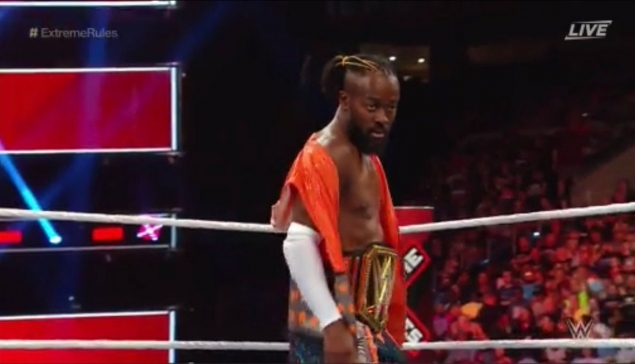 Extreme Rules : Kofi Kingston toujours champion de la WWE ?