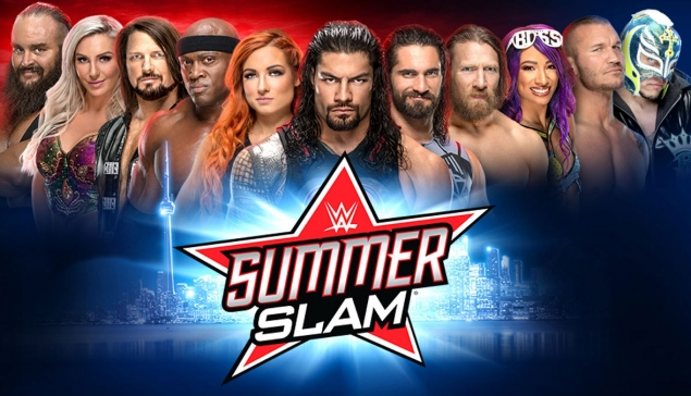 La possible carte de SummerSlam 2019
