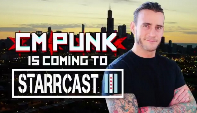CM Punk sera à Starrcast III, pendant le week-end d'All Out