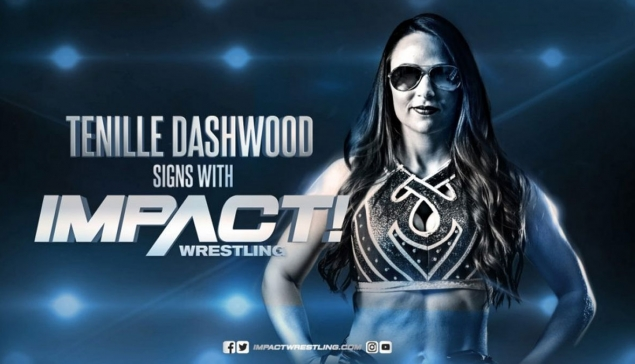 Direction Impact Wrestling pour Tenille Dashwood