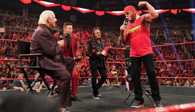 Hulk Hogan et Ric Flair seront à RAW avant Crown Jewel