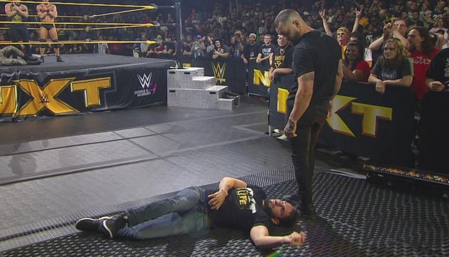 NXT : Johnny Gargano part en ambulance
