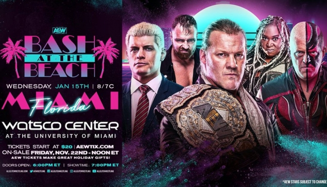 Un spécial AEW Dynamite Bash At The Beach