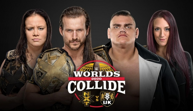 La WWE annonce Worlds Collide 2020