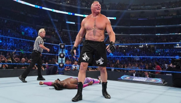 Kofi Kingston aurait voulu un match plus long contre Brock Lesnar