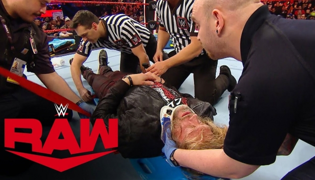 L'après RAW : Edge termine le week-end à l'hôpital