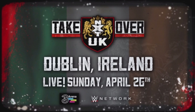 NXT UK TakeOver arrive en Irlande