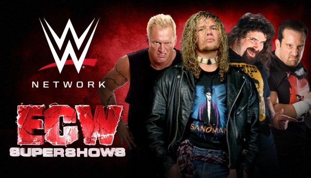 10 shows de l'ECW ajoutés au WWE Network