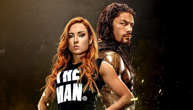 Becky Lynch et Roman Reigns dans un film d'animation