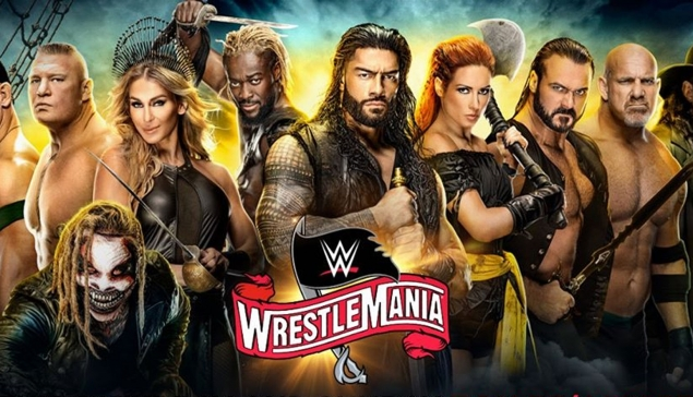 Carte de WWE WrestleMania 36