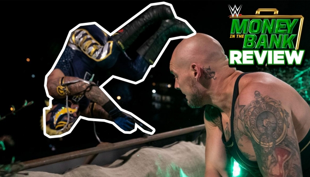 Rey Mysterio JETÉ du toit ! 😱 (Review Money in the Bank 2020)