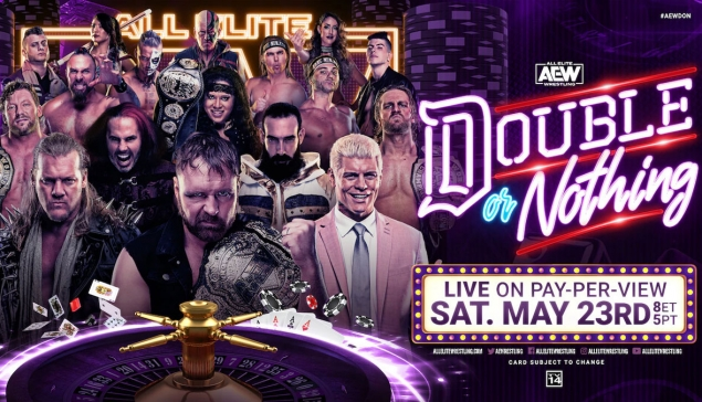 Résultats de AEW Double or Nothing 2020