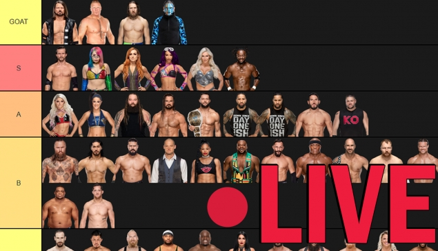 REPLAY : Fin de la tier list sur le roster de la WWE - Récatch #38
