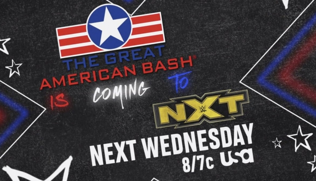 Carte de WWE NXT Great American Bash 2020