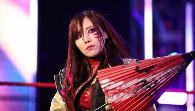 Kairi Sane sur le point de quitter la WWE ?