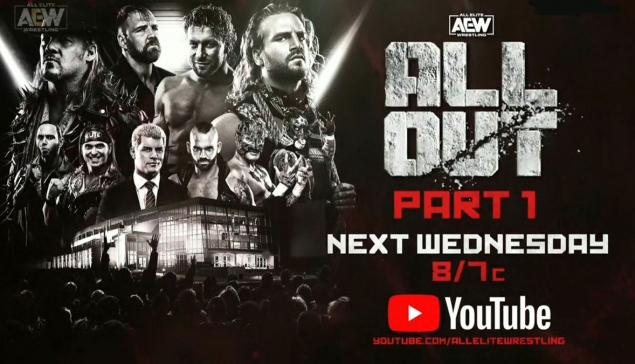 AEW All Out 2019 diffusé gratuitement