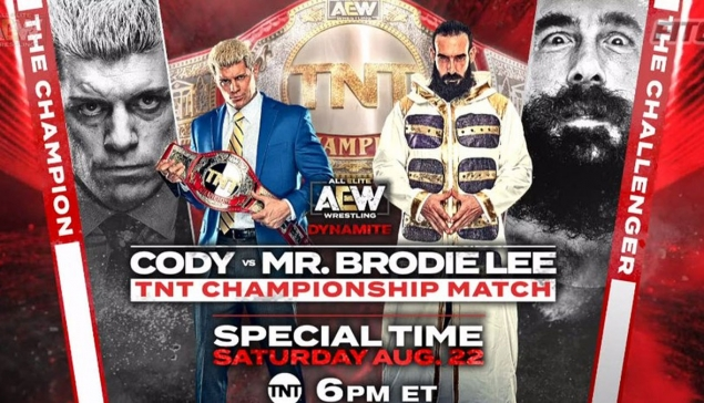 Preview : AEW Dynamite du 22 août 2020