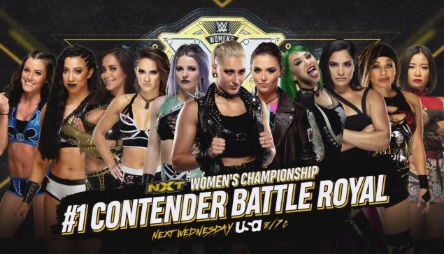 Preview : WWE NXT du 23 septembre 2020
