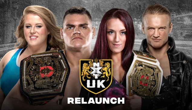 Preview : WWE NXT UK de retour à l'antenne ce 17 septembre