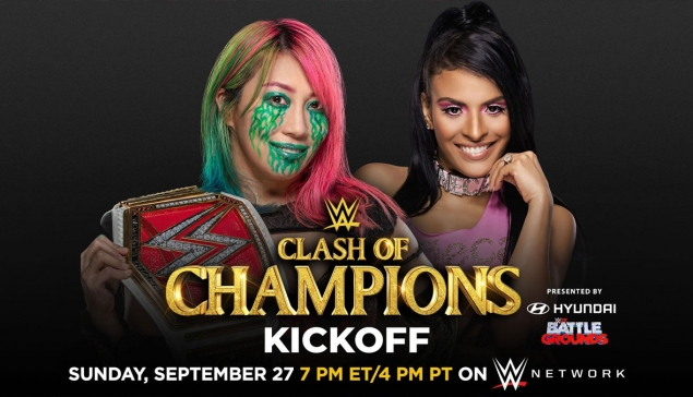 Kickoff : WWE Clash of Champions 2020