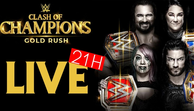 LIVE : Soirée WWE Clash of Champions 2020 (pronos, live reactions, review...)