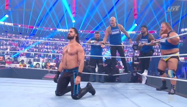 Survivor Series : Rollins se sacrifie pour le match traditionnel masculin