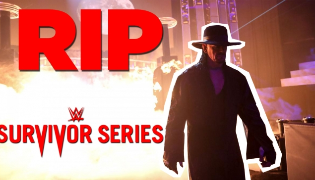 RIP UNDERTAKER... (Review WWE Survivor Series 2020)