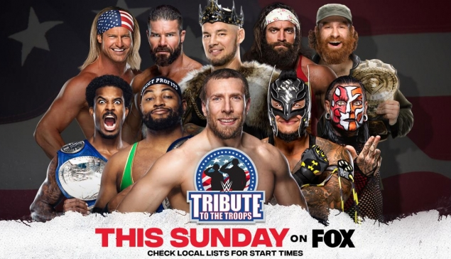 Preview : WWE Tribute to the Troops 2020