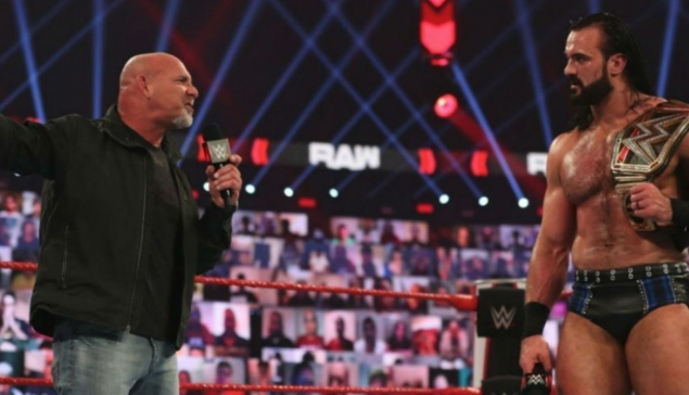 Royal Rumble : Drew McIntyre contre Goldberg est officiel