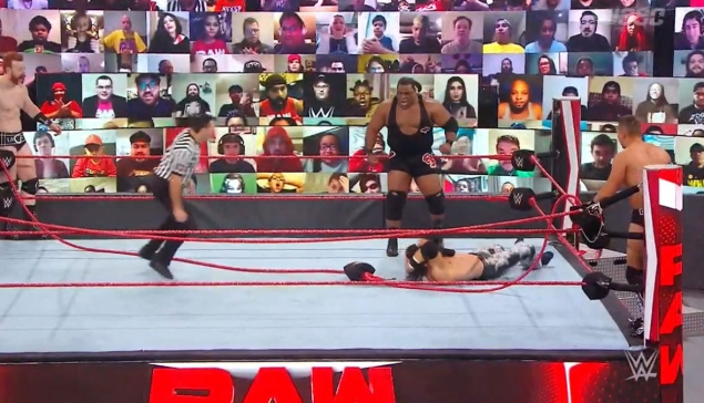 WWE RAW : Keith Lee casse le ring