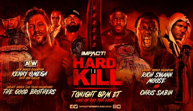 Impact Wrestling Hard to Kill 2021 : Toutes les informations