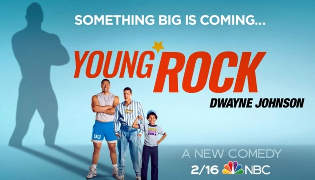 Le trailer de la série ''Young Rock'' sur NBC