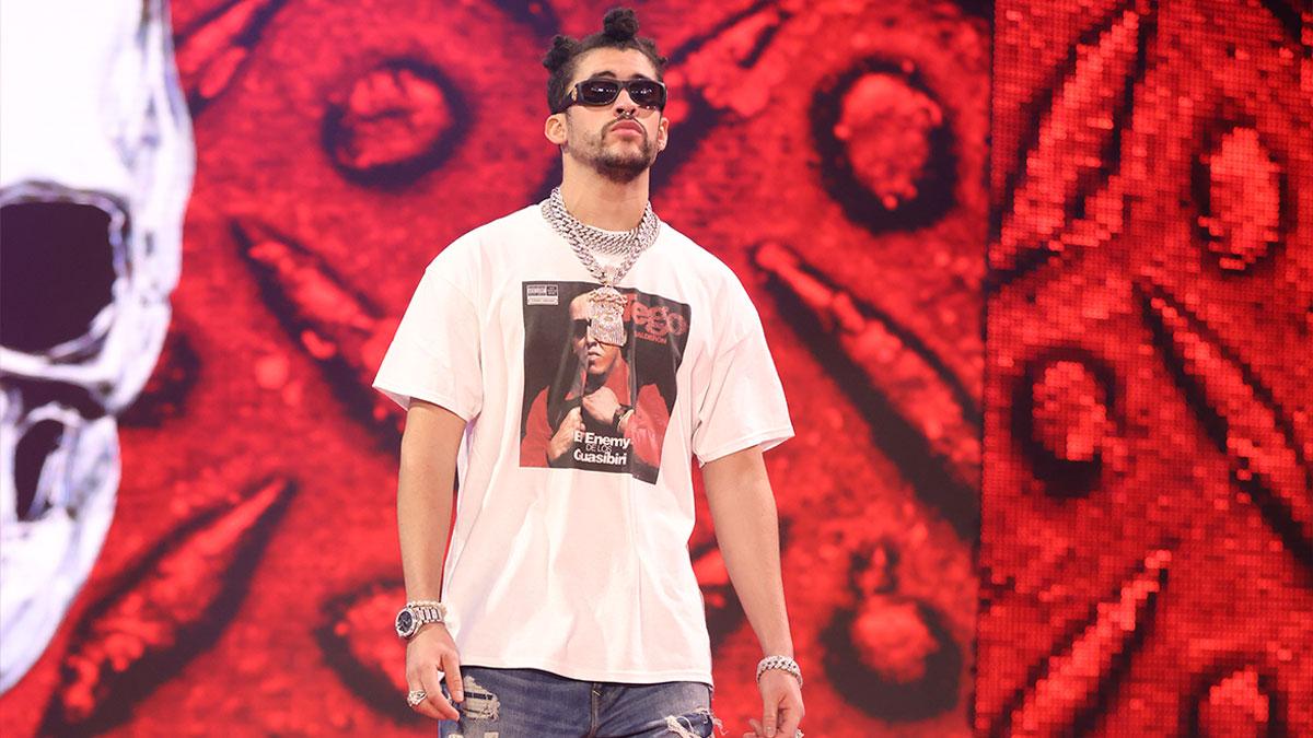 Bad Bunny à la WWE pour encore un bon moment - Catch-Newz