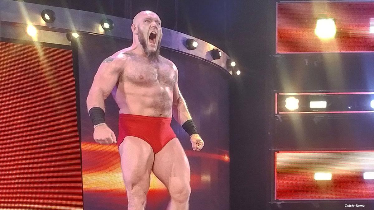 Lars Sullivan s'explique au sujet de sa fin contrat avec la WWE - Catch-Newz